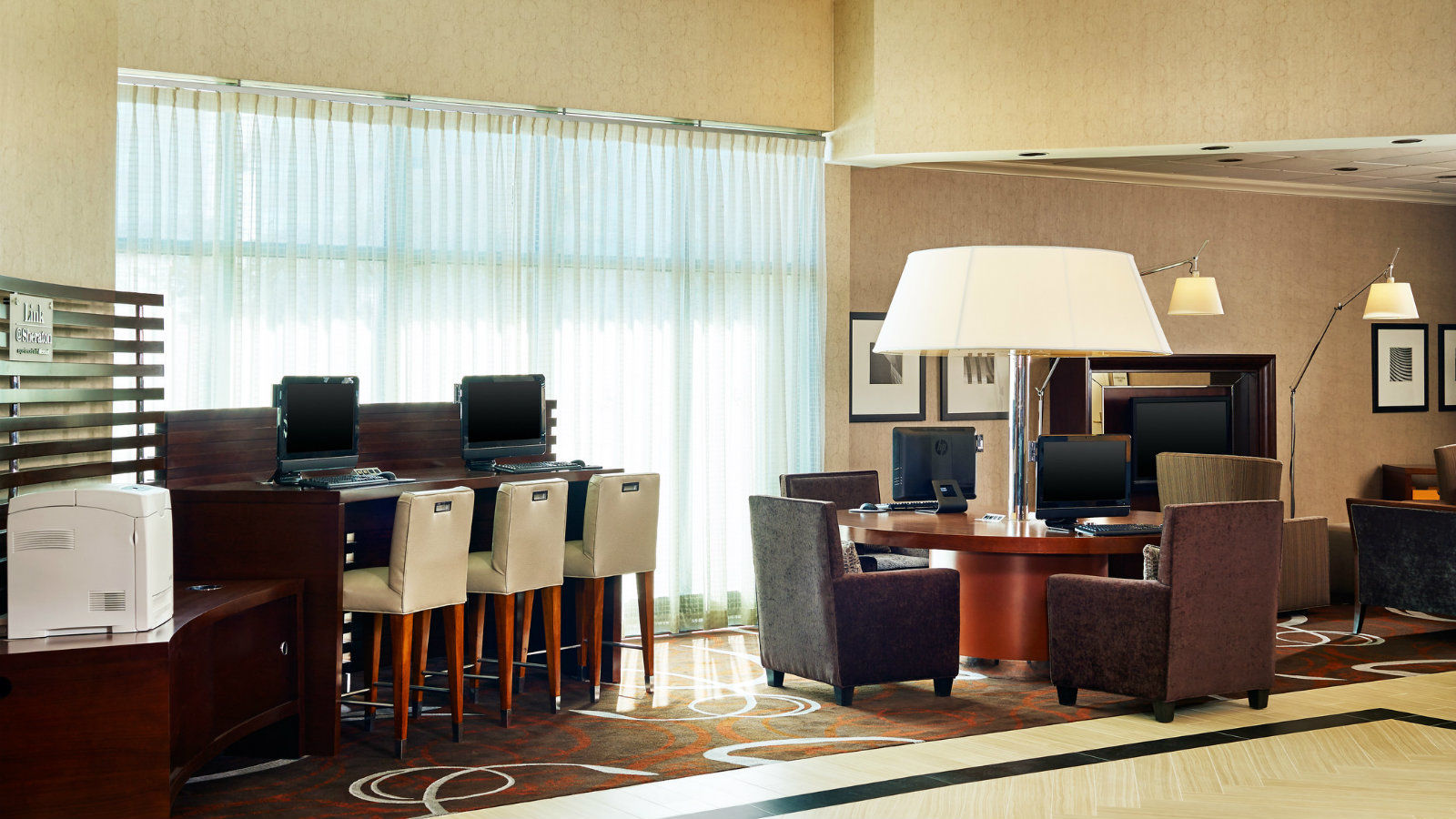 Hotel Features - Link@Sheraton Experienced by Microsoft®